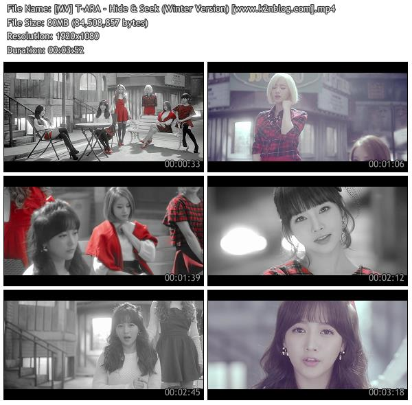 (MV) T-ARA - Hide & Seek (Winter Version) (HD 1080p Youtube)