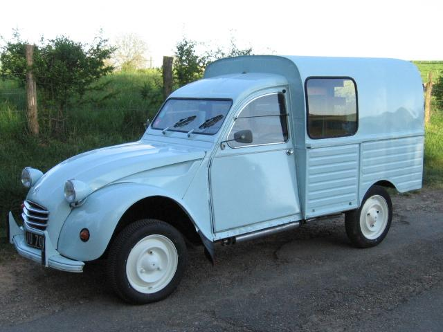 citroen 2 cv furgonette. Black Bedroom Furniture Sets. Home Design Ideas