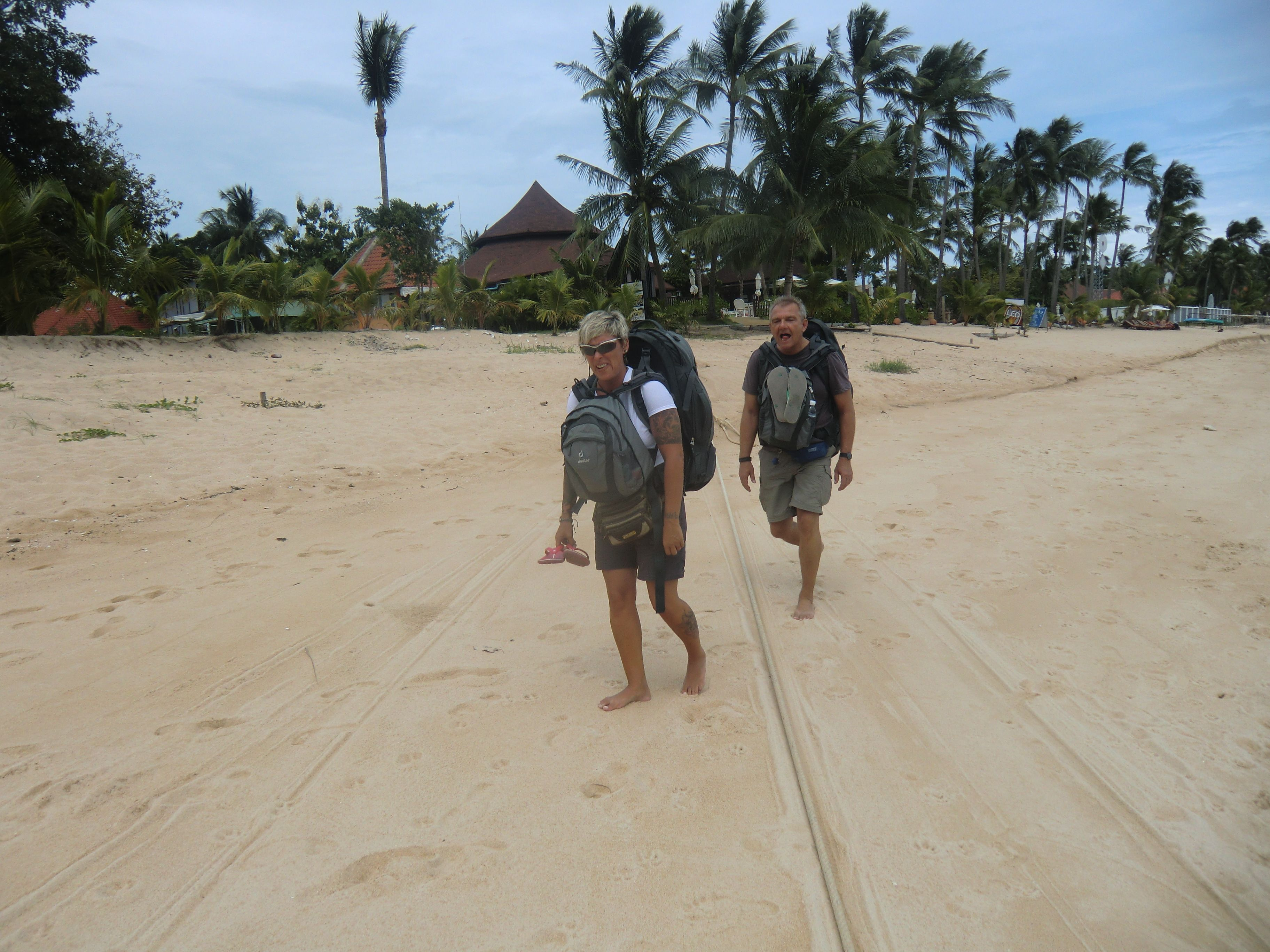 walking in the Sand !!! ;-)