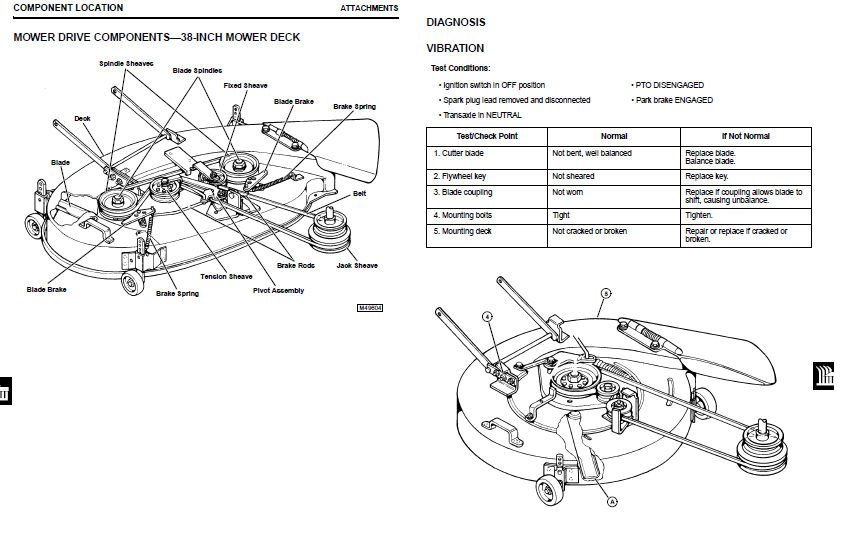John Deere 212 Belt Diagram also John Deere La105 Series 42 Deck Parts Diagram For John Deere Mower Deck Parts Diagram further Scotts L1742 Parts Diagram further 7r3c5 Belt Pattern 38 Deck Jd Sx95 Mower also John Deere X110 Garden Tractor Spare Parts. on john deere l110 steering parts