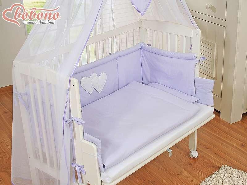 Culla neonato agganciabile al letto di mamma pap coordinato viola ebay for Lettino trasformabile usato