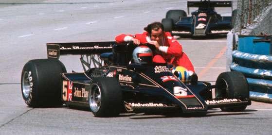 GP dos Estados Unidos de 1977: o americano Mario Andretti e o sueco Gunnar Nilsson