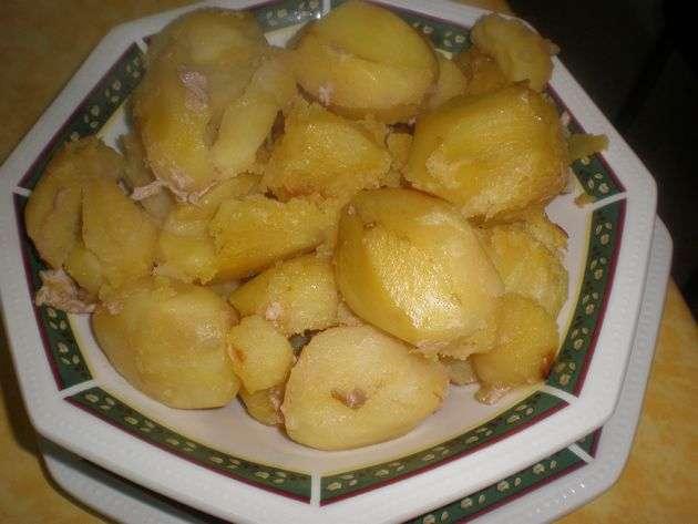 papasguisadas1 - ▷ Cinta de lomo rellena de Salsa de frutos secos en reducción de vino tinto  