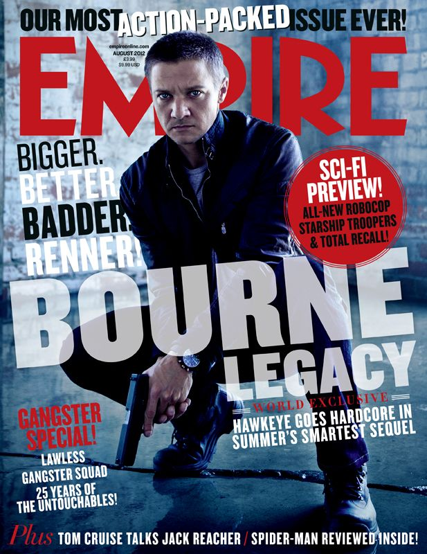 The bourne legacy jeremy renner opens his first film since the