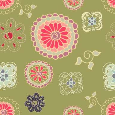 Doodle Flower Pattern