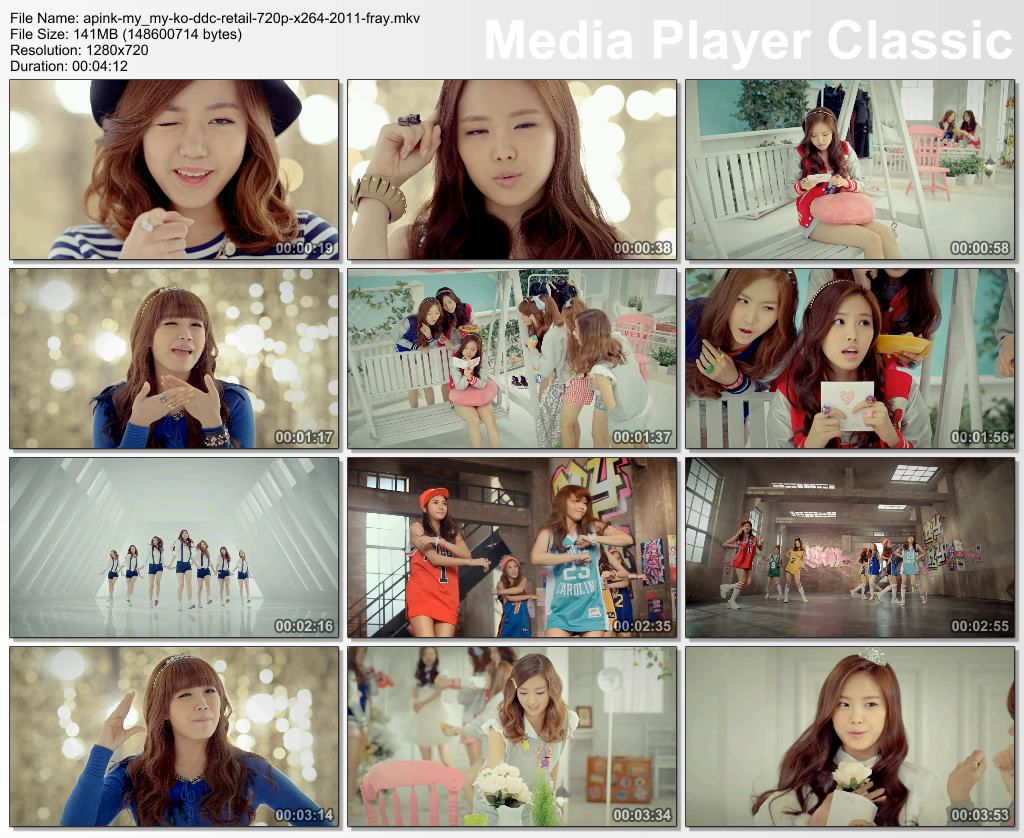 Apink - My My KO DDC 720p x264 2011